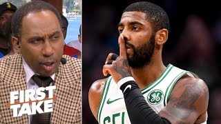 Kyrie Irving has given 'every indication' to Nets he wants to sign there - Stephen A. | First Take