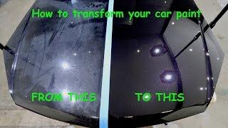 /a guide to restoring car paint paint decontamination paint correction paint protection