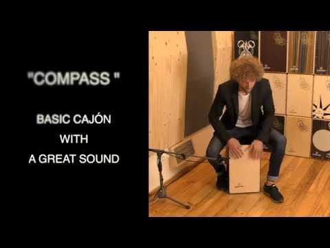 De Gregorio DG De Gregorio Cajon Compass Black Finish DGCOMPASSB | Buy at Footesmusic