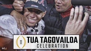 Join Tua Tagovailoa on wild victory lap after Alabama beats Georgia for national championship