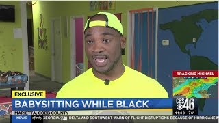 White Lady Called Cops On Corey Lewis A Black Babysitter With 2 White Kids BWB
