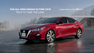 Nissan Altima 2019 - Tech To Take The Lead