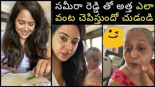 Watch: Sameera Reddy shares tasty recipe..