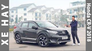 Đánh giá xe Honda CR-V 2018 nhập khẩu giá từ 958 triệu tại Việt Nam |XEHAY.VN|