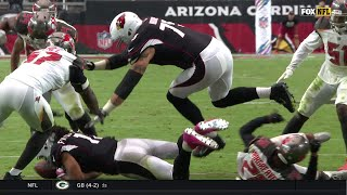 Lavonte David Rips Ball from Fitzgerald & Scores the TD! | Bucs vs. Cardinals | NFL Wk 6 Highlights