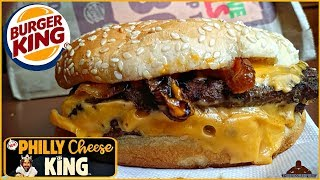 Burger King® | Philly Cheese King™ Review! 🍔👑🧀👑