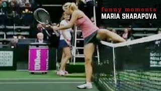 Tennis. Maria Sharapova - Best Funny Moments
