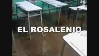 La lluvia sigue afectando las clases en la EEM N°1
