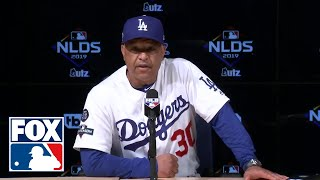 Dodgers Manager Dave Roberts defends decision to keep Clayton Kershaw in the game | FOX MLB