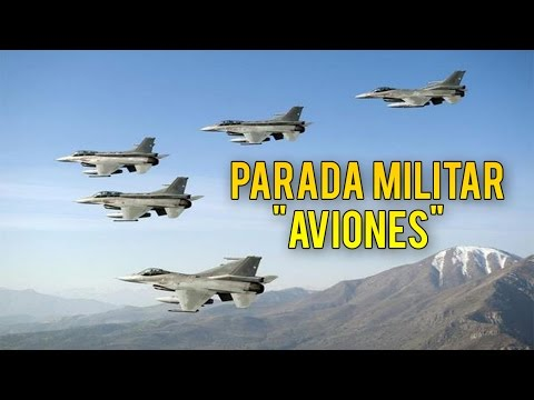 PARADA MILITAR DE CHILE 2014 - ★★AVIONES★★