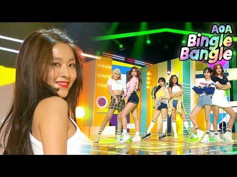 [Comeback Stageg] AOA -  Bingle Bangle , 에이오에이- 빙글뱅글  Show Music core 20180602