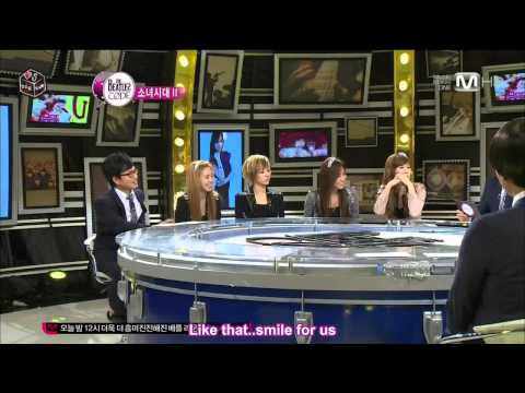 [111215] SNSD at the Beatles Code Part 1 of 4 [Eng Sub]