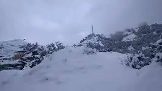 Haripurdhar Snowfall 73 km from Auli - Today 12/12/2018