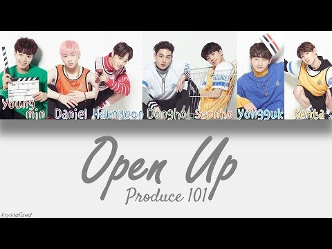 [Produce 101] Knock - Open Up (열어줘) [HAN ROM ENG Color Coded Lyrics]