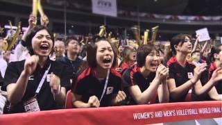 日本女子バレーCM