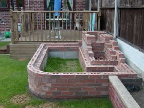 How to build your own garden fish pond waterfall 2012 - How to build a swimming pool waterfall ...