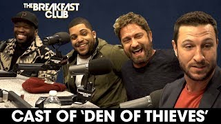 50 Cent, Gerard Butler, O'Shea Jackson Jr. + Pablo Schreiber Tear Up The Breakfast Club