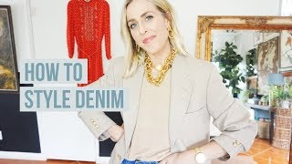 HOW TO STYLE DENIM// FEATURING 4 DIFFERENT BODY TYPES