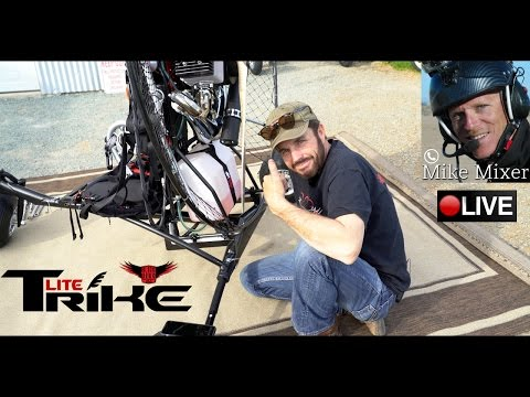 BlackHawk Paramotor Surprises Dealer With a NEW Paramotor TRIKE Design!
