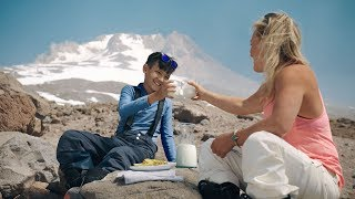Built, Not Born (1/5): U.S. Olympian Jamie Anderson Shows Max the Slopes