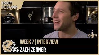 Zach Zenner 1st Interview as a Saint | New Orleans Saints Football