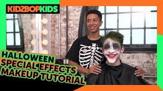 KIDZ BOP Kids – Halloween Special Effects Makeup Tutorial with Grant & Matt