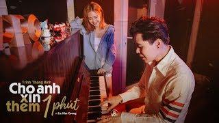 Cho Anh Xin Thêm 1 Phút (LIVE) | Trịnh Thăng Bình - Liz Kim Cương - Piano Vũ Đặng Quốc Việt