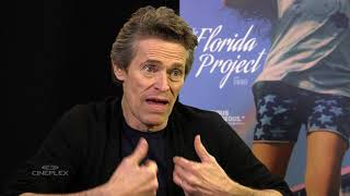 Willem Dafoe, Brooklynn Prince and Bria Vinaite on The Florida Project at TIFF 2017