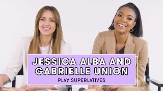 Gabrielle Union and Jessica Alba Reveal Who's Most Likely to Break Character and More | Superlatives