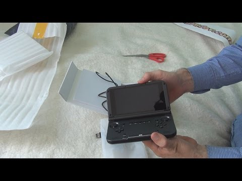 Unboxing and test of GPD XD 32GB RK3288 Quad Core 5 Inch Android4 4 Tablet GamePad in 3D