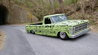 The Dirty Pickle. 1967 F100  big back window. #StreetSleds #DirtyPickle