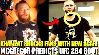 Khamzat Chimaev LEFT followers speechless with SCAR, Conor McGregor PREDICTS UFC 264, Diego Sanchez