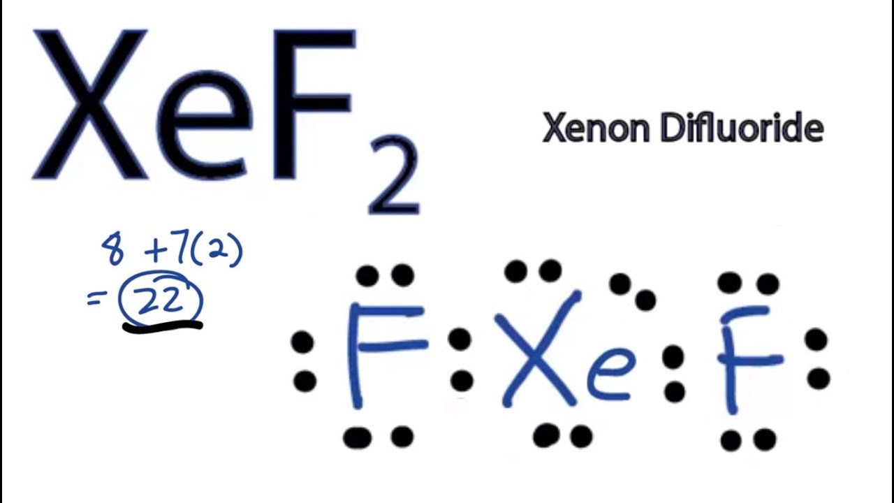 XeF2 Lewis Structure How to Draw the Lewis Structure forXef2 Hybridization