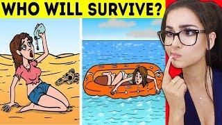 HARD Riddles To Test Survival Skills