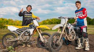 Riding Big Bikes Again!! (New Dirt Bikes)
