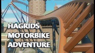 Hagrid's Magical Creatures Motorbike Adventure POV Animation - Roller Coaster Concept