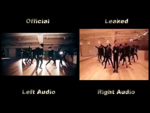 EXO - Monster Dance Practice Comparison [Official VS Leaked]