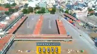 Erode city Drone ride Corona free city of Tamilnadu  #greencity #erodian #erode
