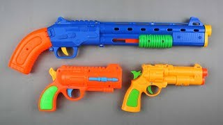Guns Toy for Kids !! Learning Colors for Children - Box of Toys with Colored Toy Guns Video for Kids