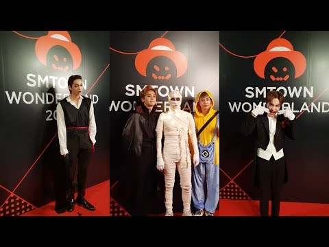 181031 EXO at SM TOWN WONDERLAND - Halloween