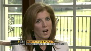 Caroline Kennedy on JFK's secret recordings