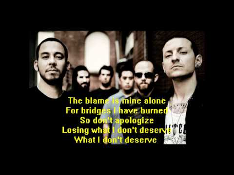 Linkin Park - Fallout (lyrics)