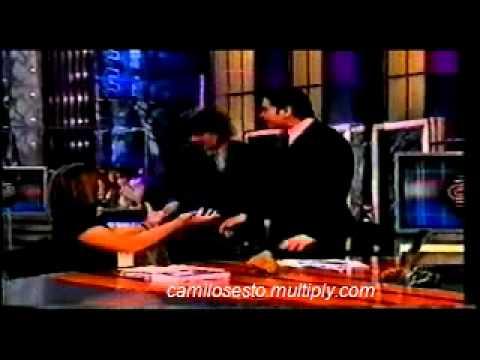 Camilo Sesto y su gran picardía en un programa de la TV española