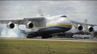 World's Largest Plane Lands in Australia