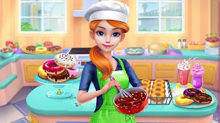 Play Fun Cake Maker Kids Cooking Game | Baby Learn Colors Bake, Decorate, Serve Cakes | Kids Game |