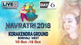 LIVE Navratri 2018 Day 6 - Korakendra Garba - Non Stop Gujarati Dandiya & Garba Dance - Garba Songs