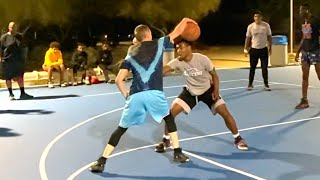 Professor vs Real Hoopers(Pro/D1)... Finally Tested
