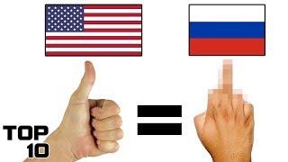 Top 10 Rudest Gestures Around The World