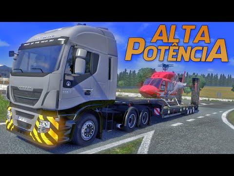 Euro Truck Simulator 2 - Helicóptero