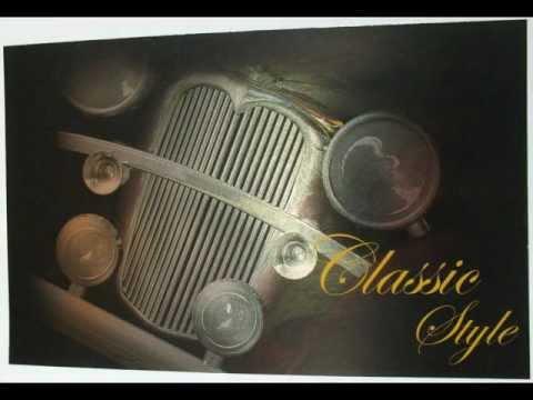 Classic Car Foil Card